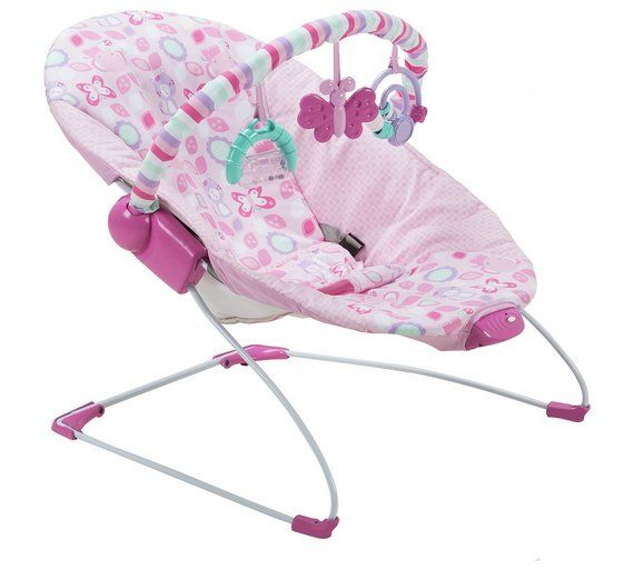 Buy Chad Valley Friends Deluxe Bouncer - Pink at Argos.co.uk, visit Argos.co.uk to shop online for Baby bouncers, Baby bouncers and swings, Baby toys, Baby and nursery