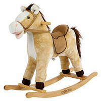 Rockin' Rider Derby Animated Plush Rocking Horse
