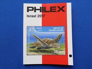 a philex sellos catalogo 2017 sobre israel marcas de colores sin usar 995 euros