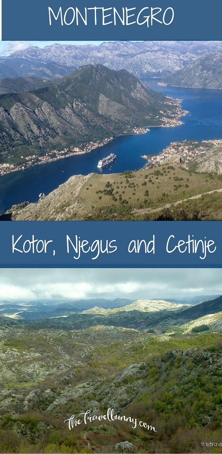 A day trip from Kotor, Njejsi, Cetinje and across the Sea of Stones to Budva
