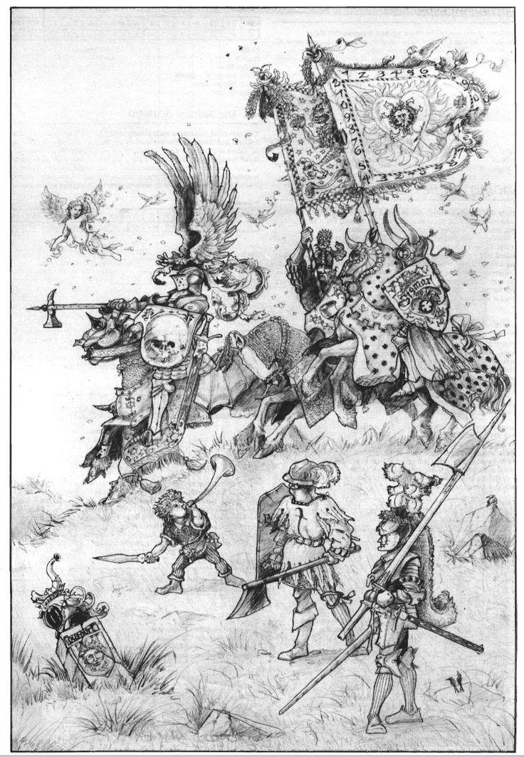 bilious-green:  Warhammer Fantasy Roleplay, John Blanche