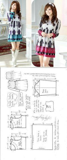 Long sleeved dress...
