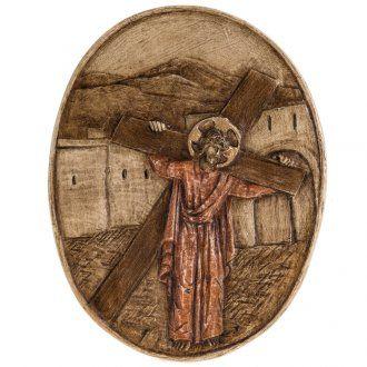 II estación Vía Crucis piedra Bethléem | venta online en HOLYART