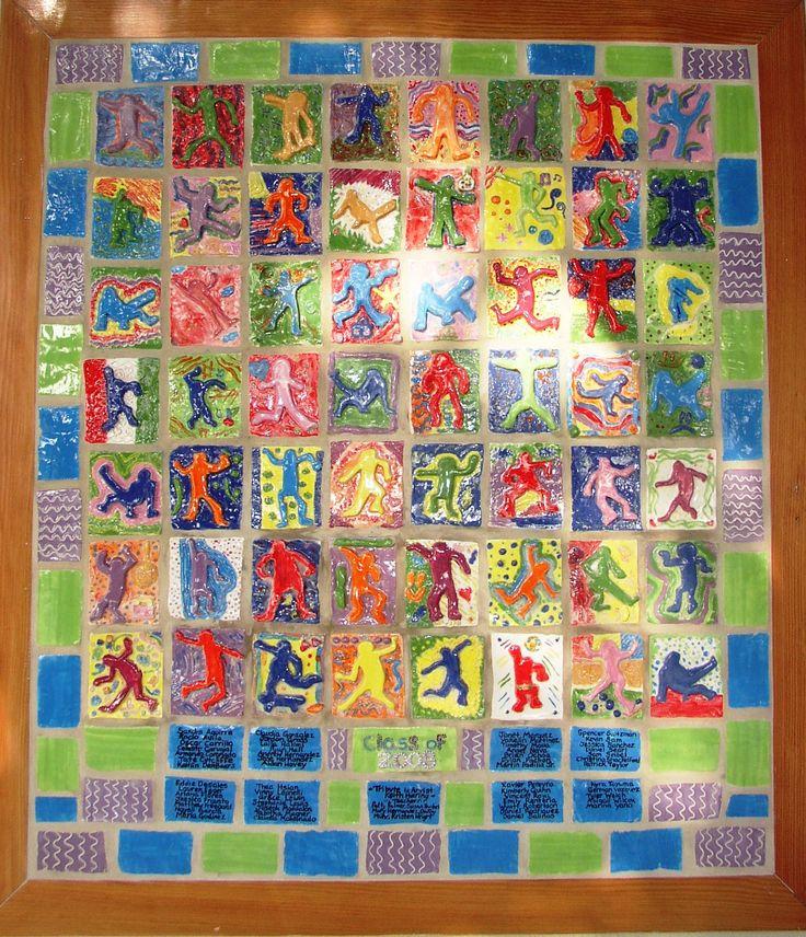 16 Best Ceramic Tile Murals Dss Art Projects For Kids