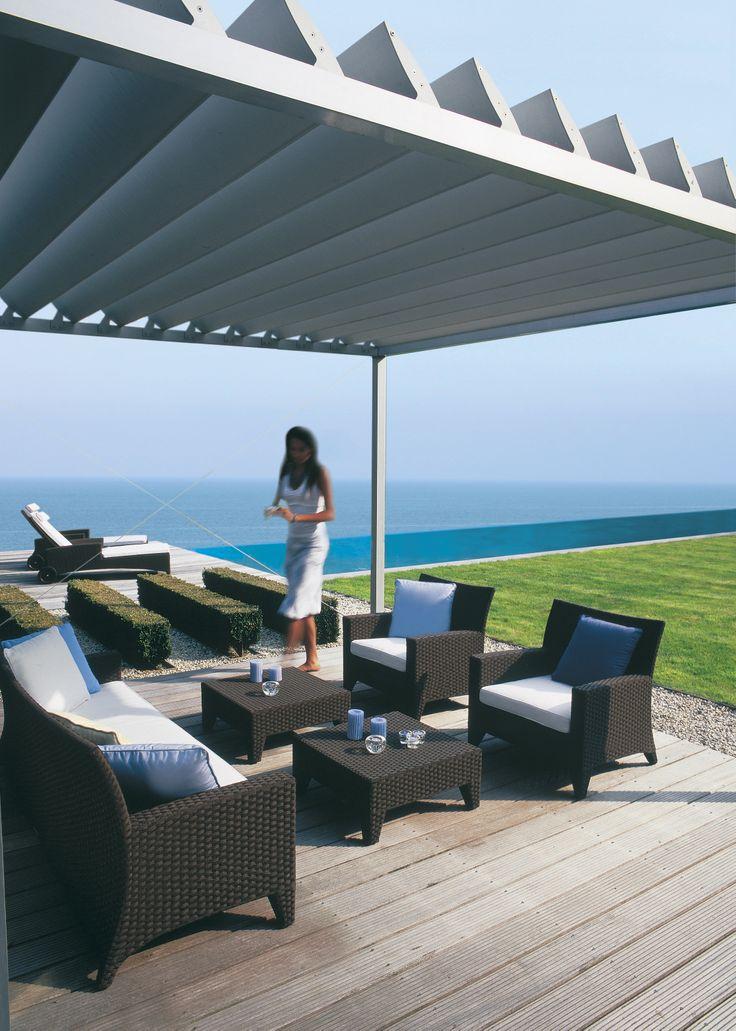 Renson  Algarve  Pergola  Outdoor  RoyalBotania  Furniture. 82 best P rgolas images on Pinterest   Pergolas  Outdoor living