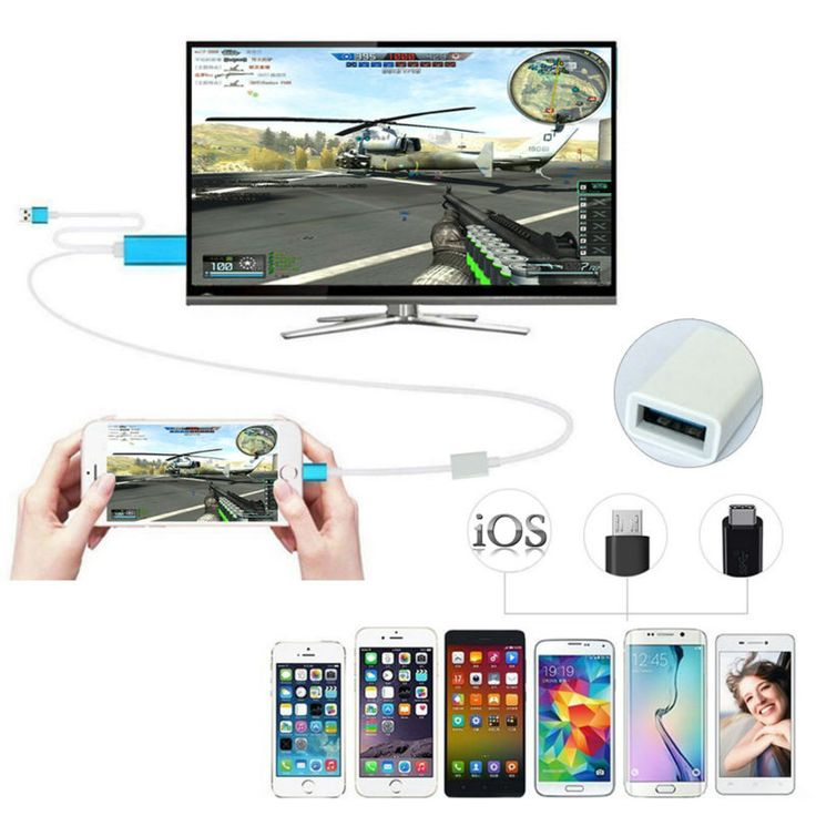 ==> [Free Shipping] Buy Best Currency HDMI Cable 2m AV HDTV TV Adapter USB Cable Connector TV Projector Monitor For Samsung S6 S7 NOTE3 NOTE5 Mobile phones Online with LOWEST Price | 32773481877