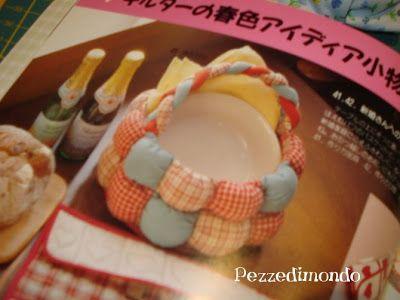 Pezzedimondo: Biscuit quilt....o Puff quilt tutorial