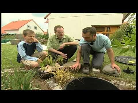 Bauanleitung, Wasserspiel selber bauen, Schöner Garten-Schnickschnack für die Grünfläche - YouTube
