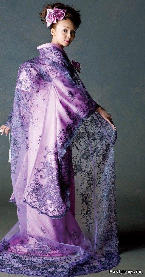Умопомрачительные японские платья и кимоно / бальные вечерние и свадебные платья