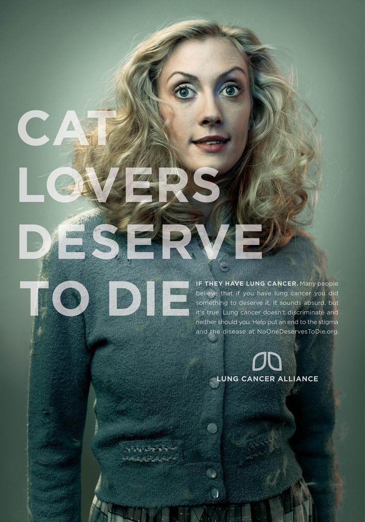 Campaña contra el cáncer de pulmón