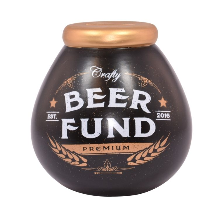 We stock a great variety of the wonderful Pot of Dreams at Gifts & Collectables including the Beer Fund Money Bank - Excellent service and fast UK delivery