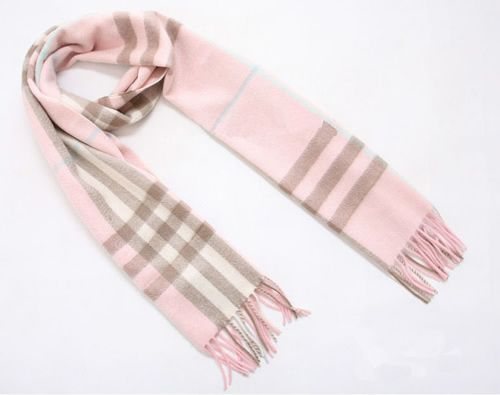 Burberry Pink Giant Cashmere Scarf - $125.00 : burberry scarf, burberry scarves