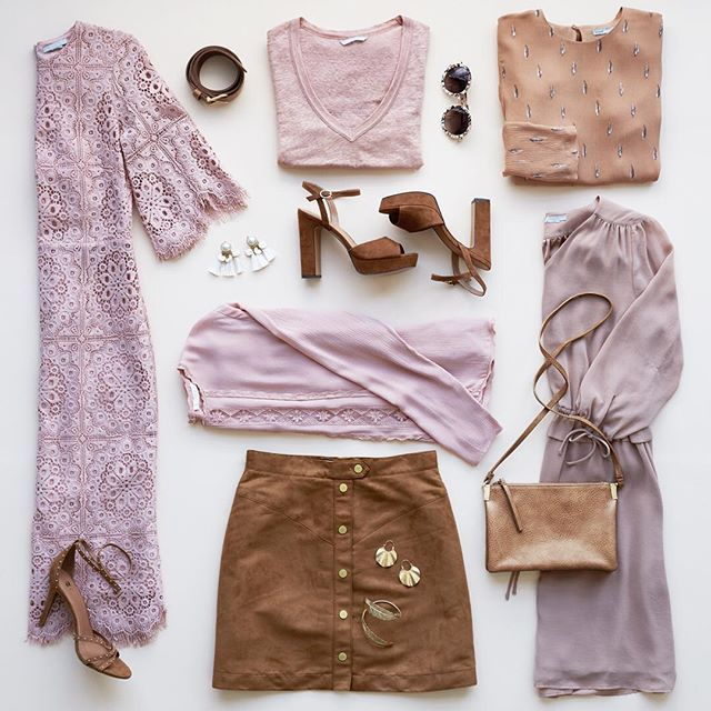 WEBSTA @ hm - We love the combination of mocka and dusty pink. #HM❤️