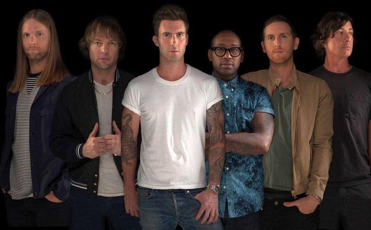 Maroon 5: 2015 auf Welttournee