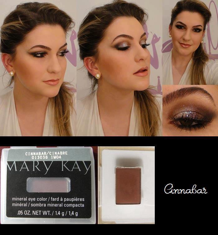 Mary Kay Cinnibar Mineral ... queridinha para esfumado preto e marrom ... da profundidade no olhar
