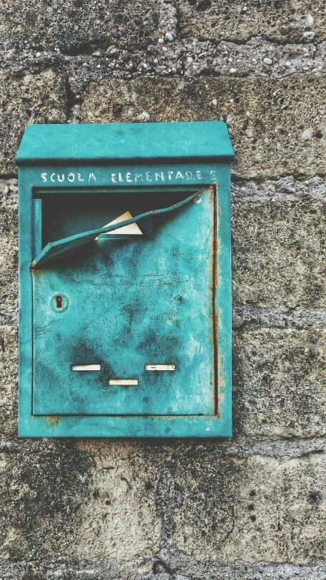 #letterbox #school #green #streetphotography