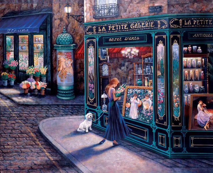 Paris mon amour. Arte anônima de Paris! Desconheço autoria