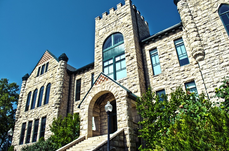 Cooper Hall houses admissions, alumni relations, planned giving, marketing and communications and the president's office.