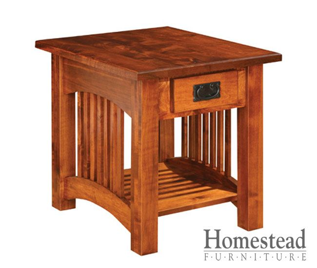 17 best images about end tables on pinterest mission for Craftsman style desk plans