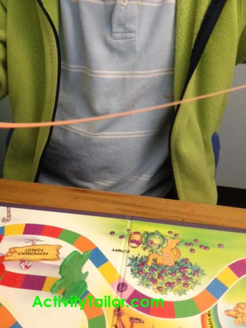 post about working with children who stutter *love the silly putty visual!
