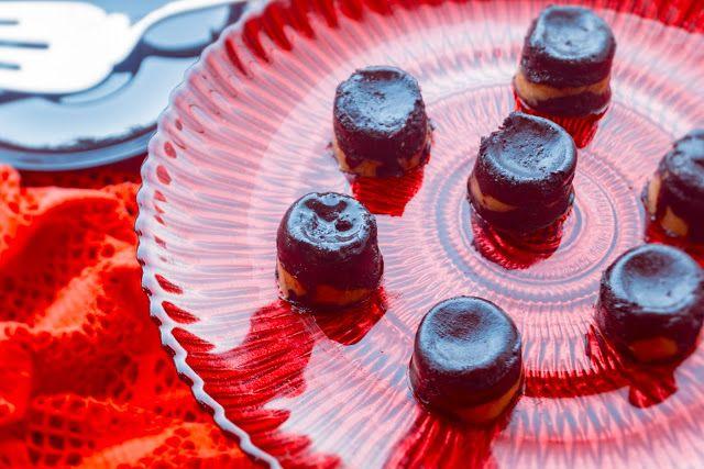 +++Bade'nin+Şekeri:+Fıstık+Ezmesi+Dolgulu+Çikolata+/+Peanut+Butter+Fil...