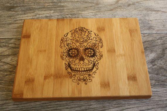 Hey, I found this really awesome Etsy listing at https://www.etsy.com/listing/227357799/sugar-skull-cutting-board-sugar-skull