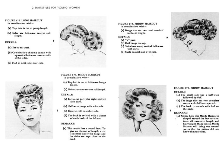 Hair Style 1940: 1940s Fashion Hairstyles: I Love The Bold Curls That Are