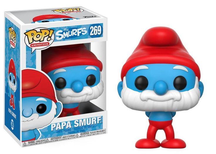 Papa Smurf Schlumpf The Smurfs Schlümpfe POP! Animation #269 Vinyl Figur Funko | Filme & DVDs, TV-Fanartikel, Aufsteller & Figuren | eBay!
