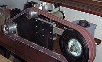 Homemade Tools Plans   Belt Grinder by Hawk99