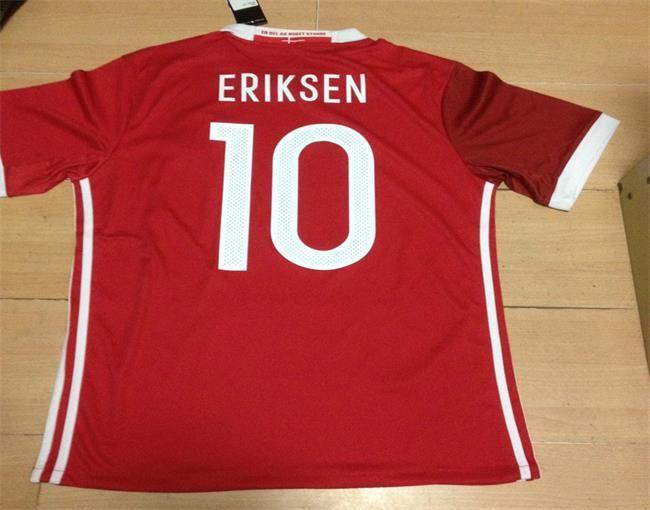 denmark home 10 eriksen jersey