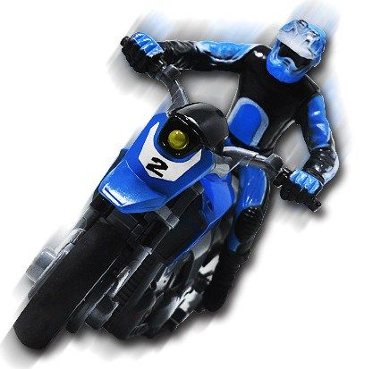 Remote Control Stunt Motorbike