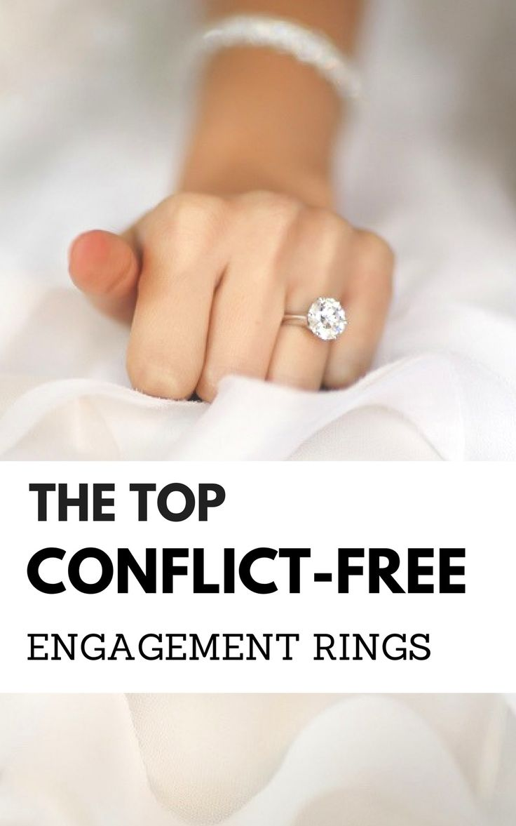 Conflict free engagement rings   diamond ring alternatives   ideas for non diamond engagement ring   engagement ring conflict free