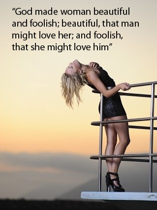 love quote of the day william shakespeare god made woman