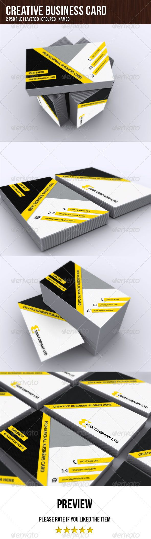 92 best print templates images on pinterest print templates creative business card graphicriver specifications size 3502 in pages 2 reheart Image collections