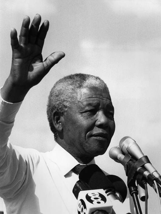 Why was Nelson Mandela important?