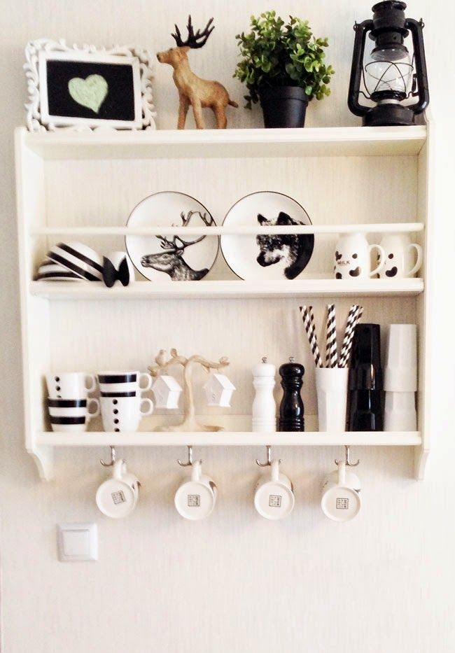 House Tour - Kitchen / Mutfak Dekorasyonu - Ev Turu - IKEA Mutfak - IKEA Mutfak Rafı - IKEA Kitchen Shelf
