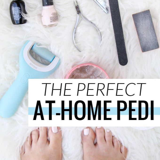 Getting the perfect at-home pedicure is easy, pampering, and saves a lot of money!