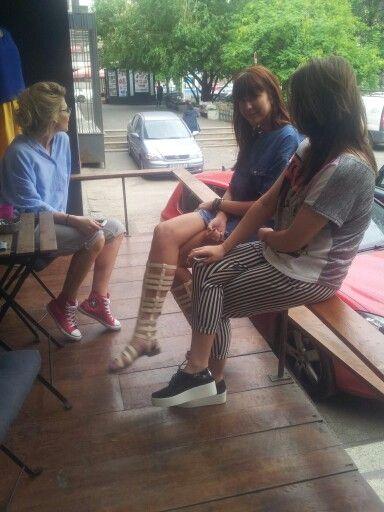 ...girls talk Urbanik, you know ;)