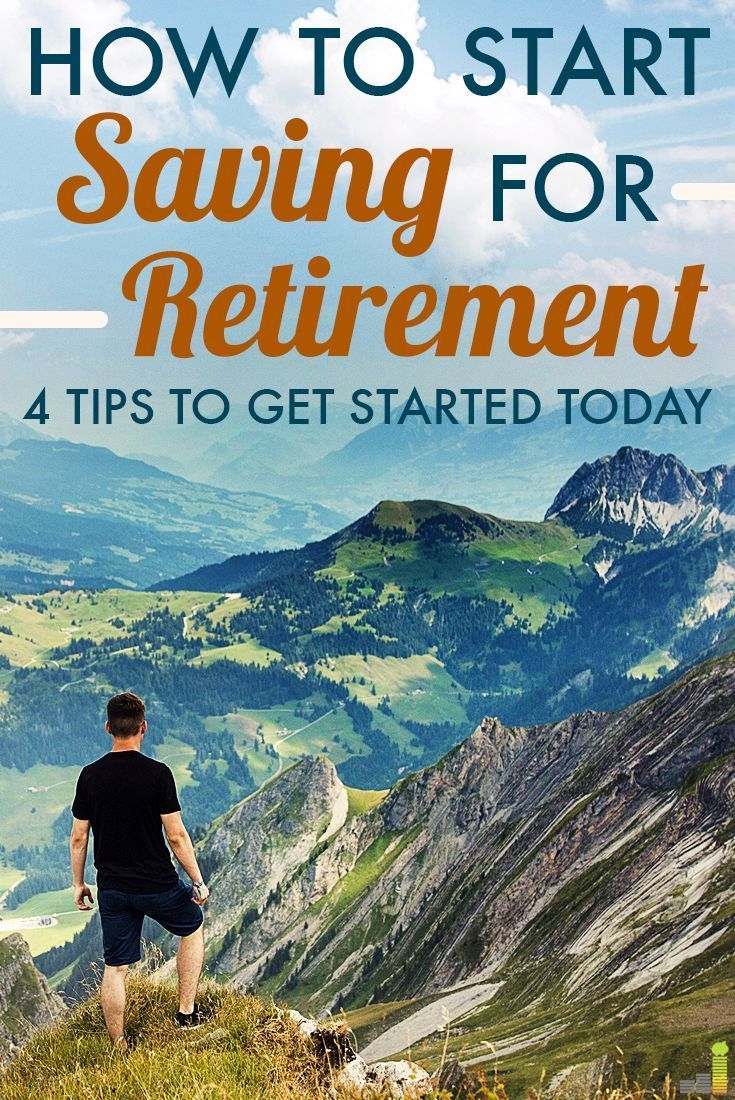 Saving for retirement and retirement planning is SO overwhelming, but this makes it really simple and easy to understand!