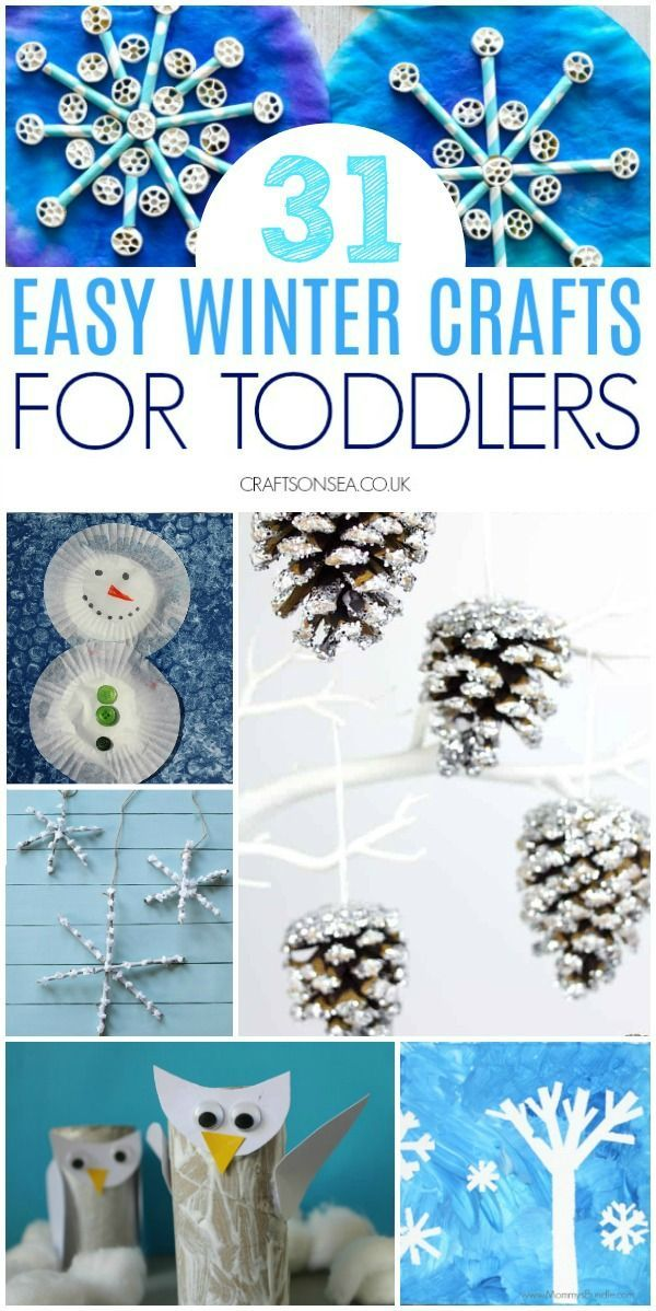 Easy And Fun Winter Crafts For Toddlers Winter Crafts For