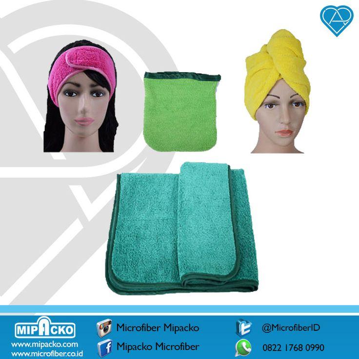 Untuk yang suka perawatan rambut dan wajah, mipacko sudah menyediakan dengan paket khusus dari Microfiber, ada yang tau kehabatan Microfiber apa ?