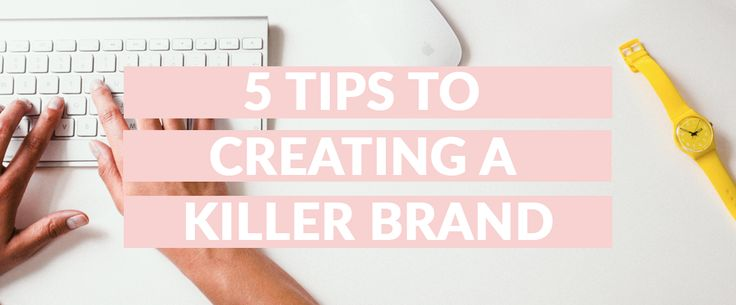 I'll let you in on a little secret! First impressions count! That's why it's so important that you have a kick butt brand that really captures peoples attention and leaves them wanting more!  To read more check out the blog!  http://middayinmay.com/killer-brand/