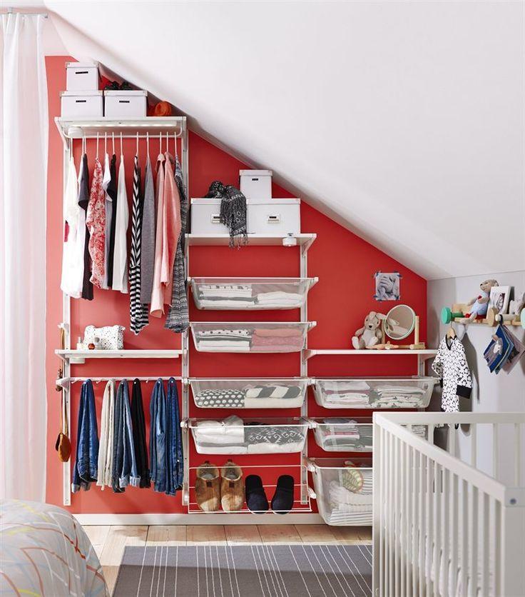 les 12 meilleures images propos de rangement chambre. Black Bedroom Furniture Sets. Home Design Ideas