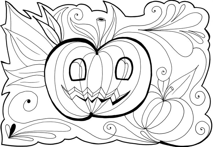Free Coloring Pages Of Halloween Printables