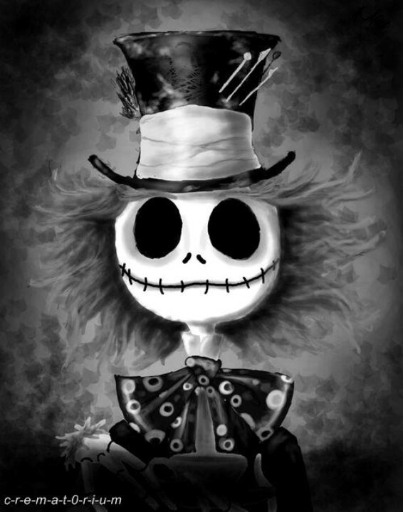 Madd Skellington Love it! 2 of my FAV characters combined :) <3 <3