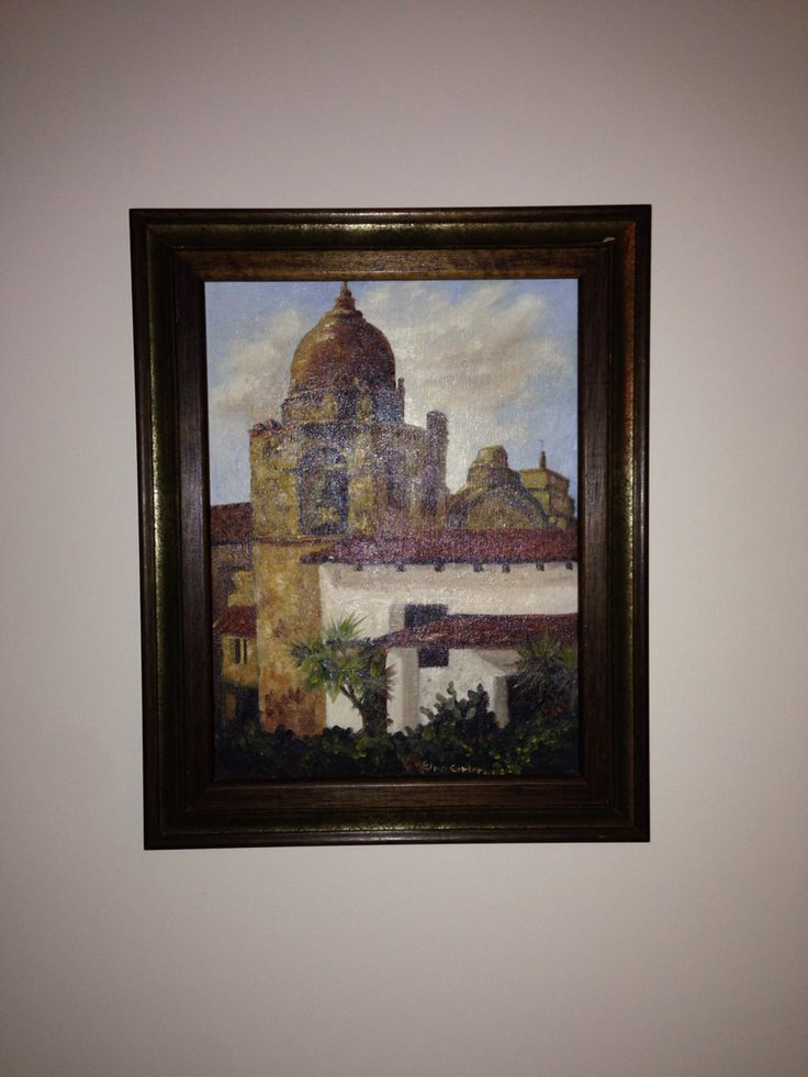 Current art I think I would like it in a grouping.  only real painting we own.  not worth anything.