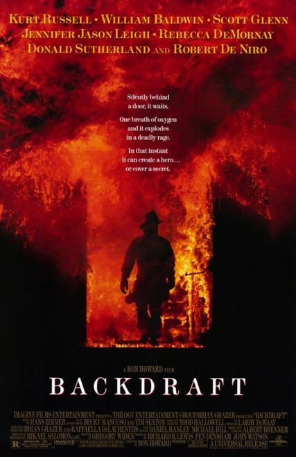 Backdraft Movie Poster (11 x 17) - Item # MOVCD3696