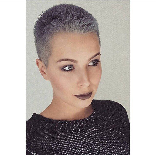 Women with Shaved Heads | 25+ best ideas about Shaved Head Women on Pinterest | Shaved hair ...