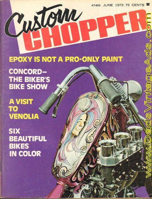1973 Custom Chopper – Arlen Ness' Knuckle