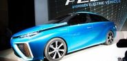 Toyota Shows Off Fuel Cell Vehicle, Powered by Hydrogen, Air - from 2014 International CES show in Las Vegas, two days ago via Mashable - California to spend $200 million to build 20 hydrogen refuelling stations by 2015. The car goes on sale in 2015, its only emission is water vapour. Next challenge for Toyota: the world's first net earth positive car? That would be a big day in automotive engineering history.